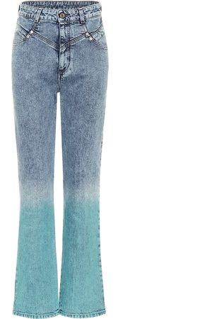 Stella McCartney Jean flare à taille haute