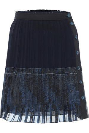Chloé Mini-jupe imprimée en crêpe de soie
