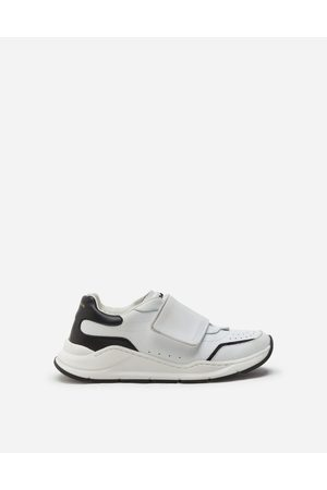 Dolce & Gabbana Homme Baskets - Collection - DAYMASTER SNEAKERS WITH RIPTAPE CLOSURE IN NAPPA CALFSKIN