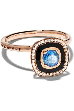 SELIM MOUZANNAR 18kt sapphire diamond Mina ring
