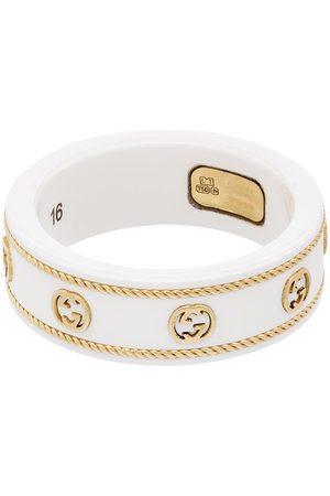 Gucci Femme Bagues - Bague en or 18ct à logo GG