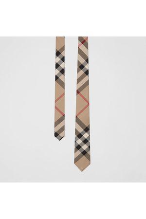 Burberry Homme Cravates - Cravate classique en soie check
