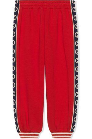Gucci Pantalon de jogging à logo imprimé