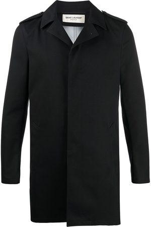 Saint Laurent Trench à col cranté