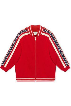 Gucci Veste zippée à logo