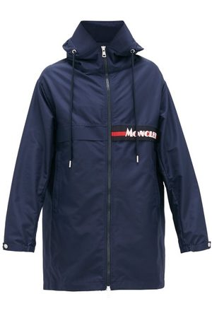 Moncler Parka technique à empiècement logo