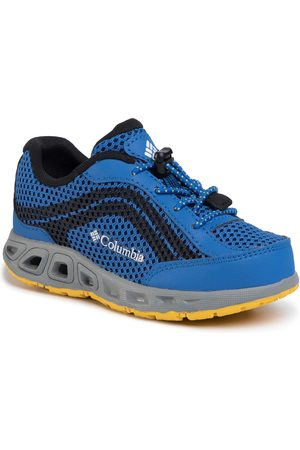 Columbia Chaussures de trekking - Childrens Drainmaker Iv BC1091 Stormy Blue/Deep Yellow 426