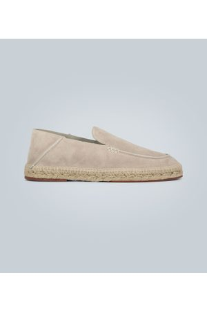Loro Piana Espadrilles Seaside Walk en daim