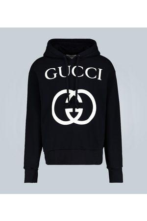 Gucci Sweat à capuche avec G entremêlés