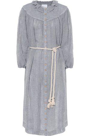 Lisa Marie Fernandez Robe chemise Fiona en lin