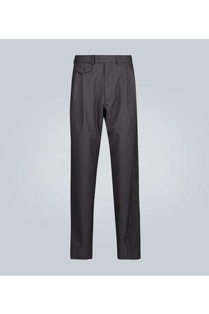 Rochas Pantalon en laine doubles plis
