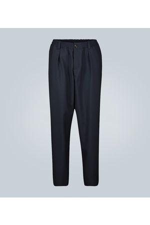 Marni Pantalon délavé en polyester