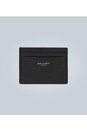 Saint Laurent Porte-cartes en cuir