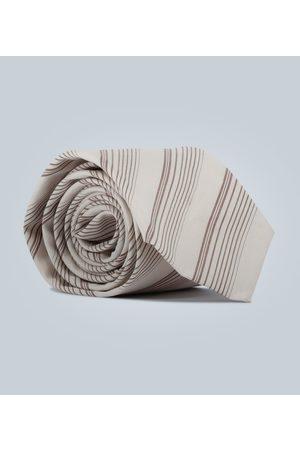 EDITIONS M.R Cravate à rayures diagonales