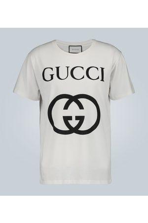 Gucci Tee-shirt en coton oversize GG