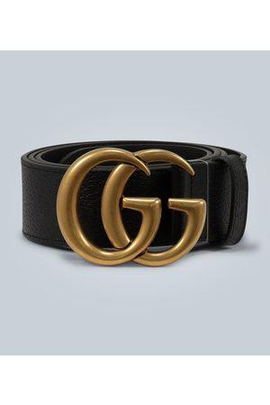 Gucci Ceinture en cuir à boucle Double G