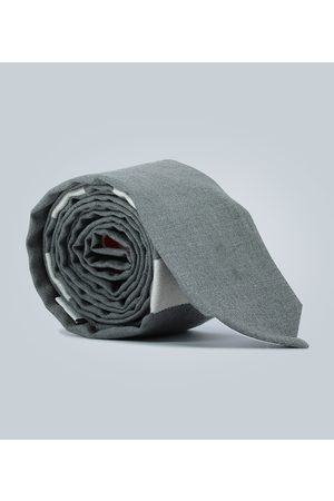 Thom Browne Cravate 4-Bar en laine