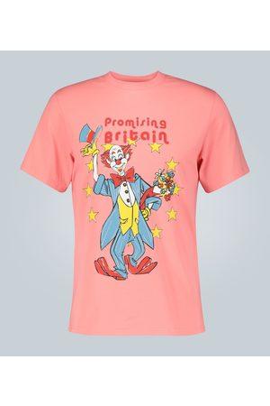 MARTINE ROSE T-shirt Promising Britain imprimé