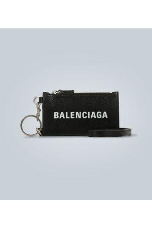 Balenciaga Porte-monnaie Cash avec porte-clefs