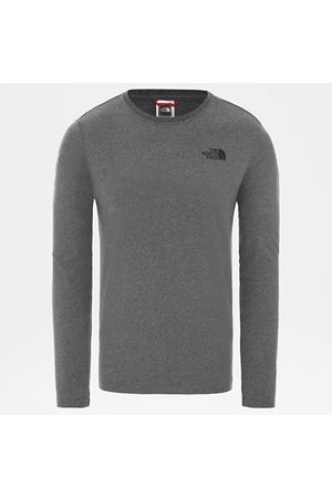 TheNorthFace The North Face T-shirt À Manches Longues Redbox Pour Homme Tnf Medium Grey Heather Taille L Men