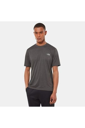 TheNorthFace The North Face T-shirt Reaxion Amp Pour Homme Tnf Dark Grey Heather Taille L Men