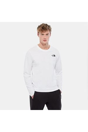 TheNorthFace The North Face T-shirt À Manches Longues Easy Pour Homme Tnf White Taille L Men