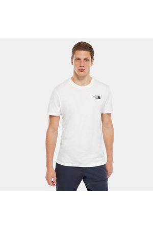 TheNorthFace The North Face T-shirt Simple Dome Pour Homme Tnf White Taille L Men