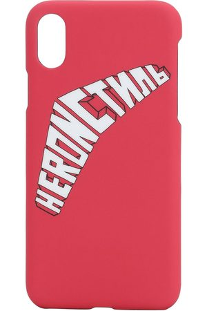 Heron Preston Coque Iphone X/xs Imprimé Logo