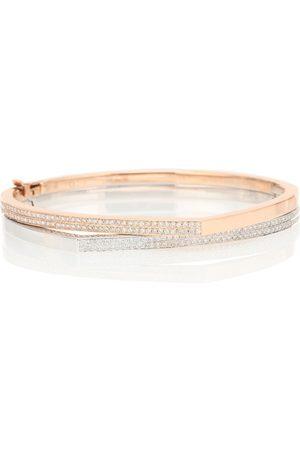 Repossi Exclusivité Mytheresa – Bracelet Antifer en rose et blanc 18 ct à diamants