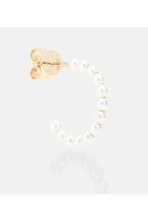 SOPHIE BILLE BRAHE Boucle d'oreille unique Marco en or 14 ct et perles