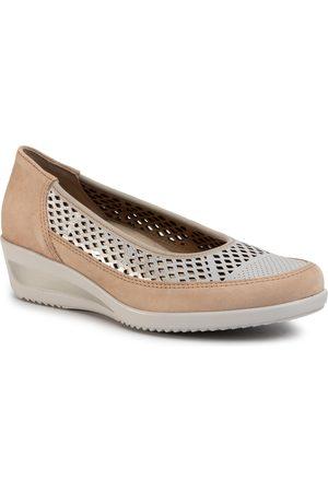 ARA Chaussures basses - 12-30666-05 Camel/WeissGold
