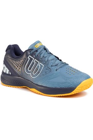 Wilson Homme Baskets - Chaussures - Kaos Comp 2.0 WRS326160 Blue/Peacoat/Goldfusn