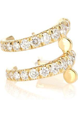 Melissa Kaye Boucle d'oreille unique Lola en 18 ct et diamants