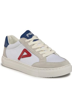 Pepe Jeans Sneakers - Adams Archive Boys PBS30434 White 800