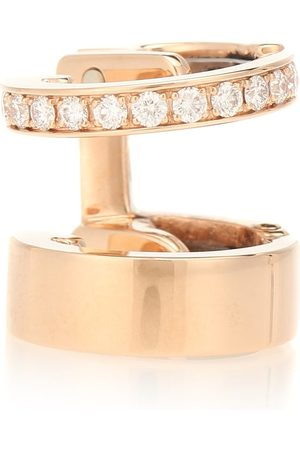 Repossi Boucle d'oreille unique Berbere Module en rose 18 ct et diamants