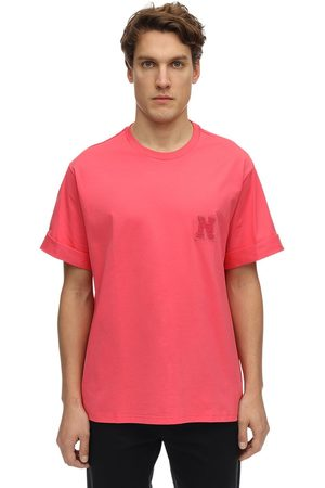 Neil Barrett T-shirt En Jersey De Coton Avec Patch Logo