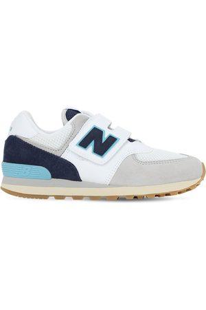 """New Balance Sneakers À Scratch En Daim Et Mesh """"574"""""""