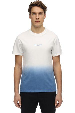 Stella McCartney T-shirt En Jersey De Coton Imprimé Dégradé