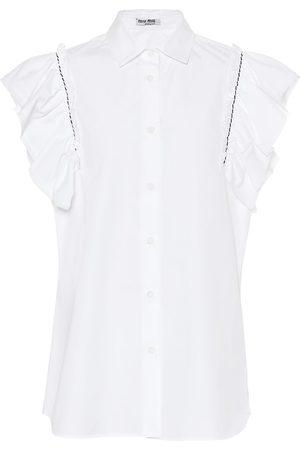 Miu Miu Femme Tops - Top en coton