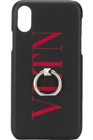 VALENTINO Coque d'iPhone XS Max VLTN à logo imprimé