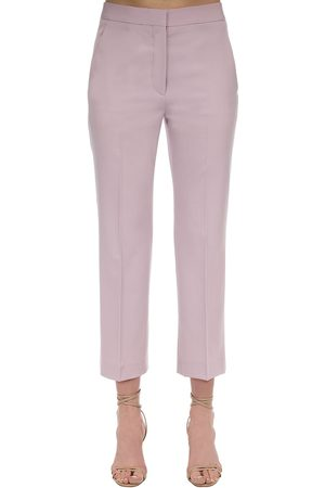 Stella McCartney Pantalon Ajusté En Laine Stretch