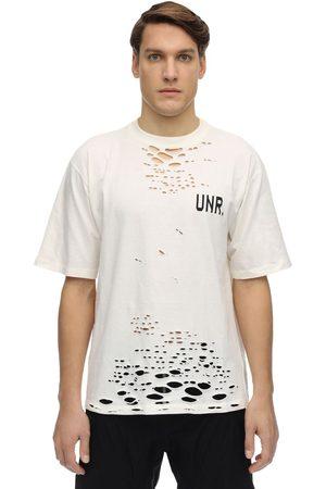UNRAVEL T-shirt Oversize En Jersey Déchiré