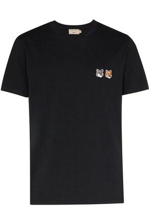 Maison Kitsuné T-shirt à logo poitrine