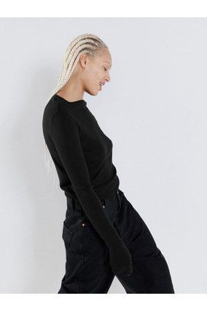 Raey T-shirt manches longues en laine biologique