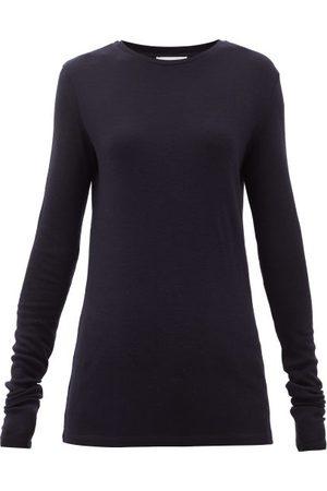 Raey Femme Manches longues - T-shirt manches longues en laine biologique