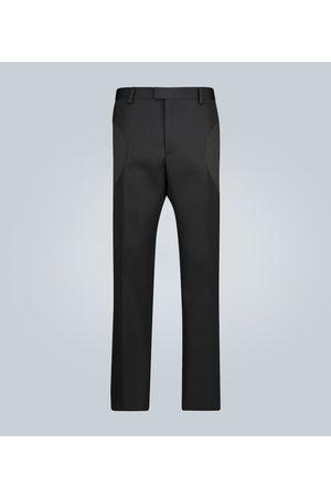 Bottega Veneta Pantalon droit en laine compacte