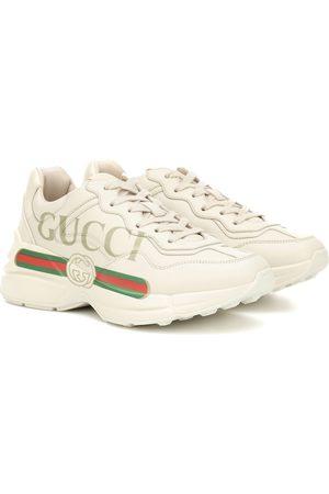 Gucci Baskets Rhyton en cuir