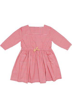 Caramel Robe Knightsbridge en coton à carreaux