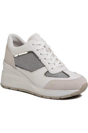 Geox Sneakers - D Zosma A D028LA 0AS85 C1303 Lt Grey/White