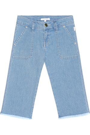 Chloé Femme Taille haute - Jean droit raccourci à taille haute
